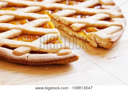 Crostata Over Table