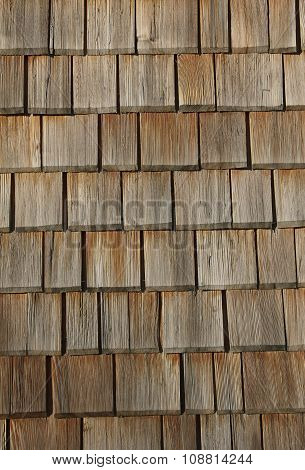 Lumber Shingles Background