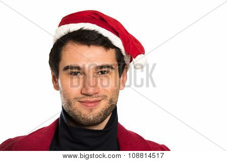 Young Happy Santa