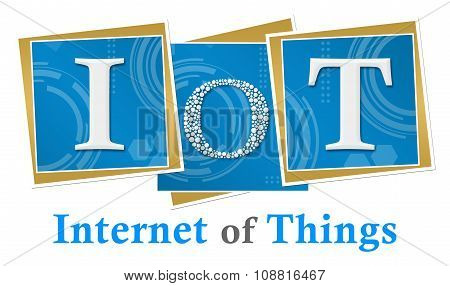 IoT - Internet Of Things Technical Squares