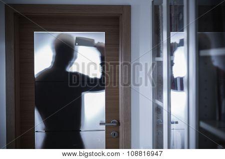 Dangerous Criminal Silhouette