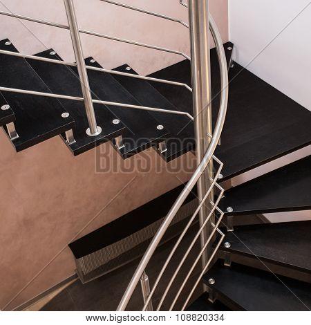 Dark Modern Staircase