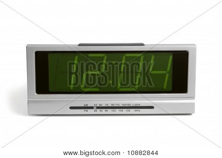 Digital Electronic Clock From Radio