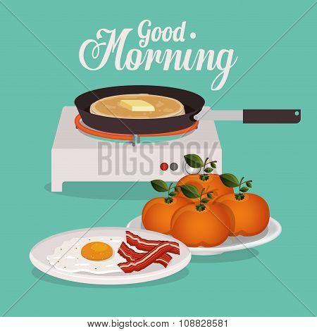 good morning breakfast design
