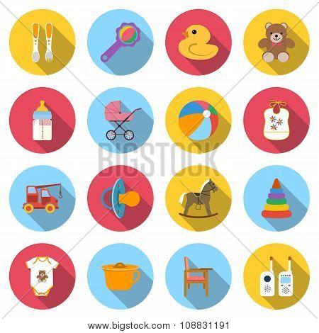 Set Baby Icons