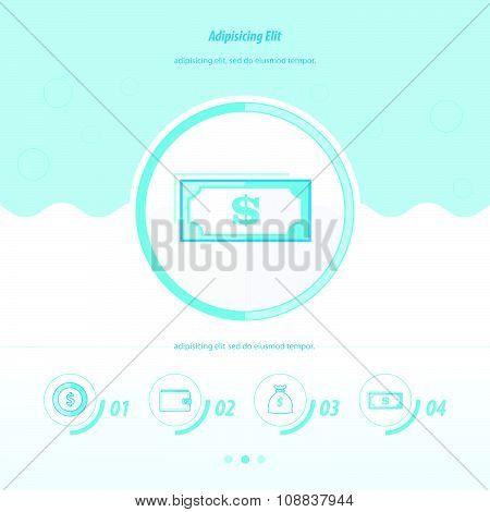 Blue Color Concept Design