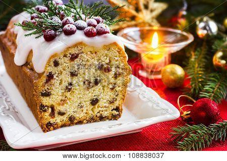 Traditional Fruitcake For Christmas