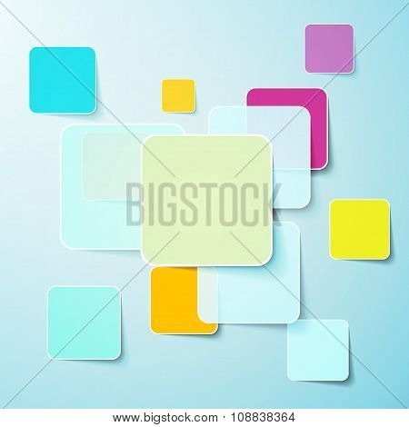 Sticker And Banner Set Isolated On White Eps 8 Vector, No Open Shapes Or Paths, Grouped For Easy Edi