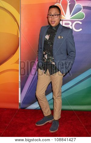 LOS ANGELES - NOV 17:  Nico Santos at the Press Junket For NBC's