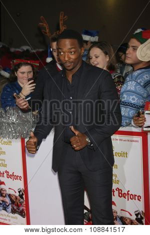 LOS ANGELES - NOV 17:  Anthony Mackie at the