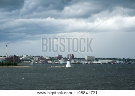 Storm Approaching New Bedford
