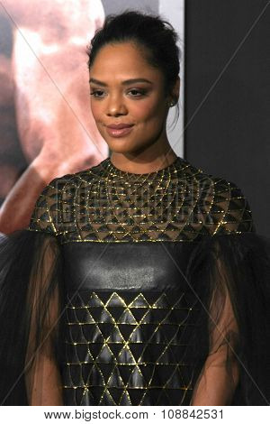 LOS ANGELES - NOV 19:  Tessa Thompson at the