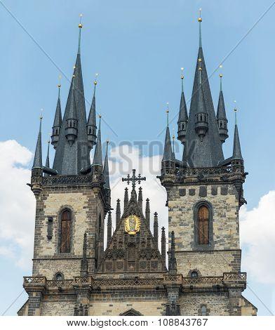 The Tyn Church In Prague