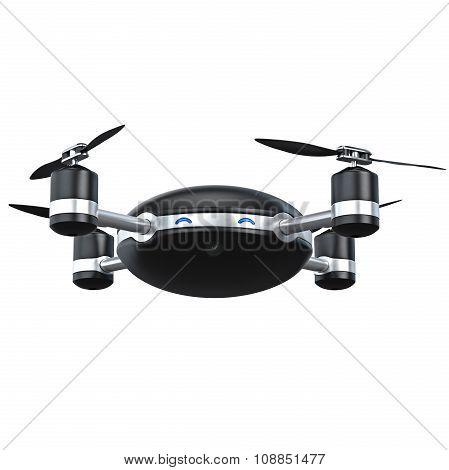Automatic quadrocopter drone
