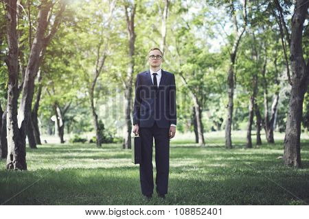 Businessman Environment Formal Professional Leader Concept