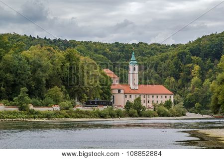 View Of Weltenburg Abbey, Germany