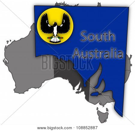 South Australia Territory And Flag
