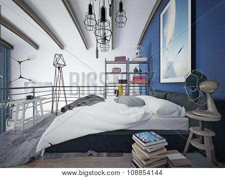 Bedroom Loft Style