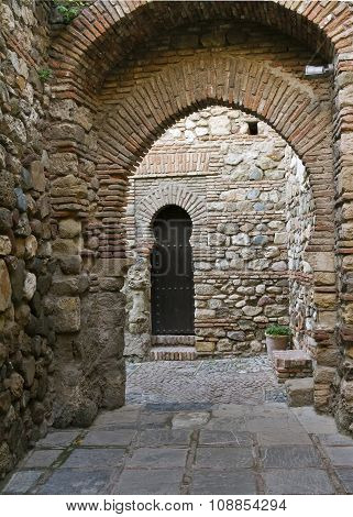 Internal Gateway In Alcazaba De Malaga