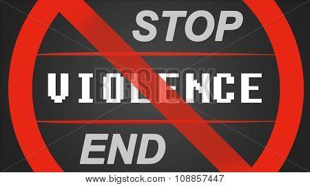 Stop / End Violence