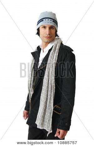 Male Model In Wither Clothes