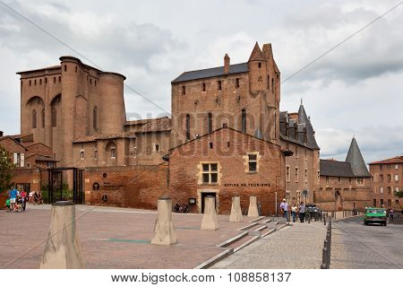 Saint Cecile Church In The City Of Albi, France