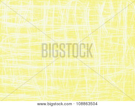 Abstract Yellow Background With Confused Lines