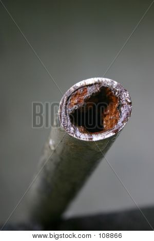 Cholesterol Concept (old Pipe)