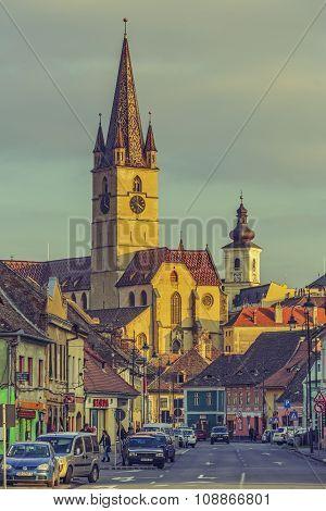 Lutheran Cathedral, Sibiu, Romania