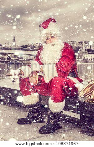 Sad Santa Claus