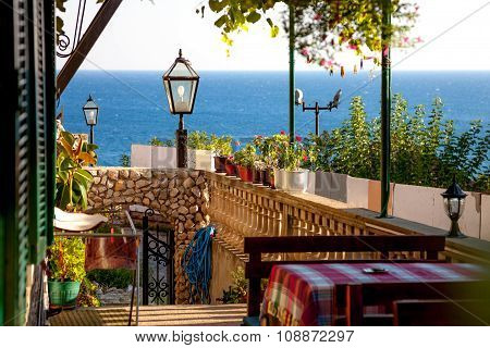 Cafe In Balkan Style