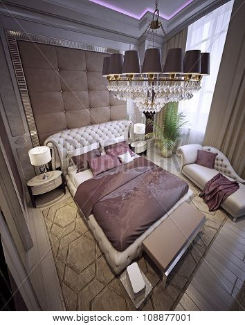 Bedroom Neoclassical Style