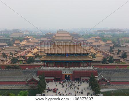 Fobidden City In Beijing