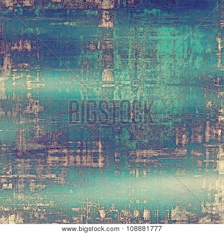 Grunge colorful background or old texture for creative design work. With different color patterns: purple (violet); blue; cyan; white