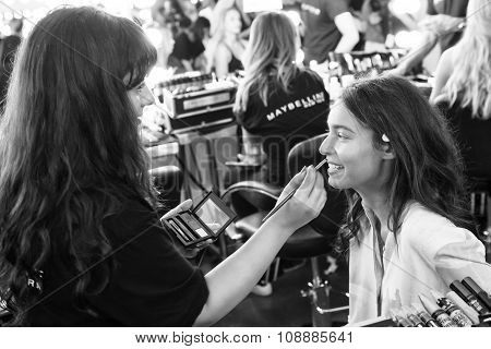 Custo Barcelona - Backstage - Spring 2016 Collection