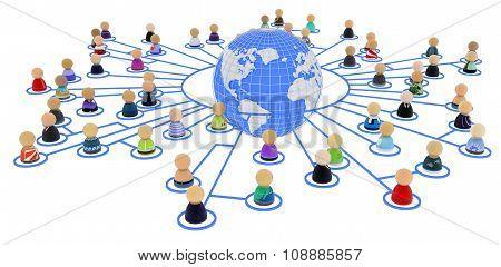 Cartoon Crowd, Link World Ring