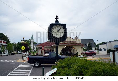 Harbor Springs City Clock