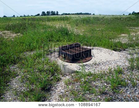 Storm Sewer in an Abandoned Subdivision