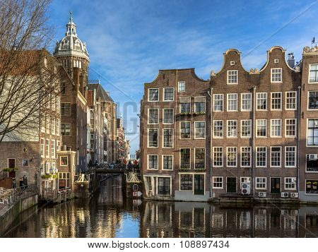 Historic Canal Houses Amsterdam