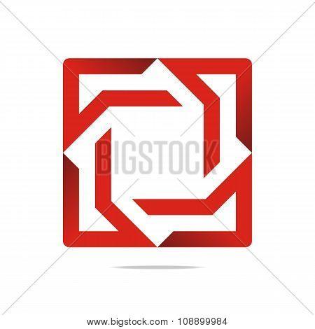 Logo Element Arrow Color Design Symbol Icon Vector
