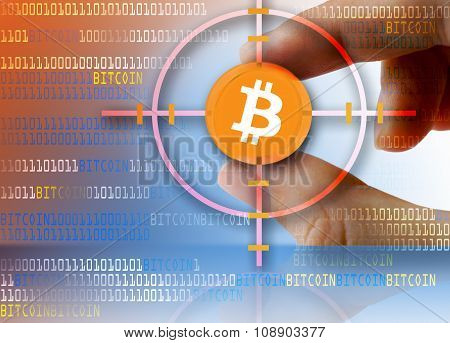 open-source digital virtual currency Bitcoin as a target