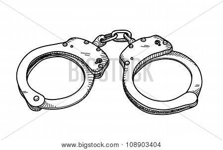 Handcuffs Doodle