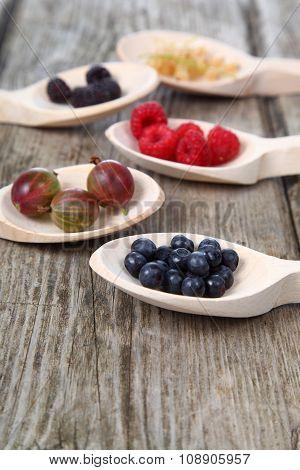 Different Ripe Berries