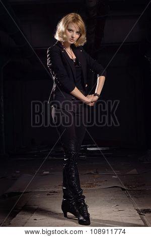 Rock Star In A Black