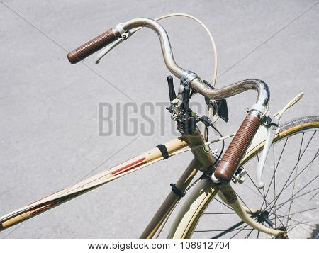 Vintage Bicycle Collection Urban Lifestyle
