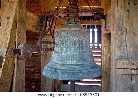 Old Iron Church Tower Bell