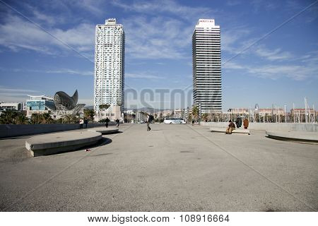 Hotel Arts And Mapfre Tower