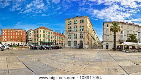 Dalmatian City Of Split Architecture