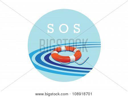 SOS icon.