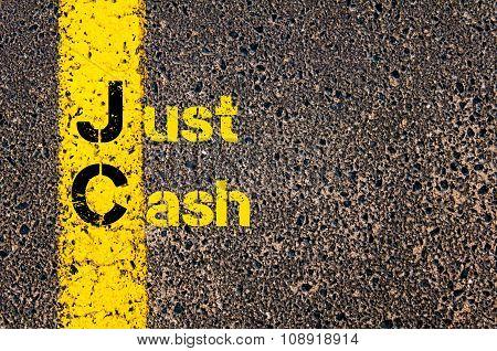 Business Acronym Jc As Just Cash